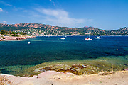 The French Riviera between Saint Tropez to Cannes