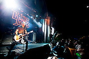 Danko Jones performing  at the  Arena  Club in Madrid