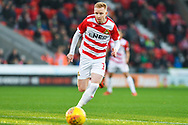Ali Crawford of Doncaster Rovers (11) in action during the EFL Sky Bet League 1 match between Doncaster Rovers and AFC Wimbledon at the Keepmoat Stadium, Doncaster, England on 17 November 2018.