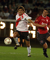 Fotball<br />Argentina<br />08/10/03 - RIVER PLATE (4 ) VS. INDEPENDIENTE (0 ) - SOUTH AMERICAN CUP - Buenos Aires - Argentina.<br />A South American Cup match played between River Plate and Independiente.<br />OSMAR FERREYRA (RIVER)<br />Foto: Digitalsport