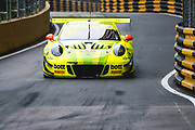 Laurens VANTHOOR, BEL, Manthey-Racing Porsche 911 GT3 R <br /> <br /> 65th Macau Grand Prix. 14-18.11.2018.<br /> SJM Macau GT Cup - FIA GT World Cup. <br /> Macau Copyright Free Image for editorial use only