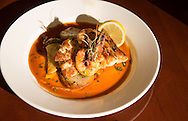 Seafood specialty cooked by Chris Okri eat Cafe Reconcile
