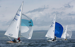 International Dragon Class Scottish Championships 2015.<br /> <br /> Day 1 racing in perfect conditions.<br /> <br /> GBR 790, Flotation<br /> <br /> <br /> Credit Marc Turner