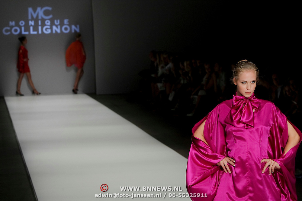 NLD/Amsterdam/20080725 - Modeshow Monique Collignon tijdens de AIFW 2008,