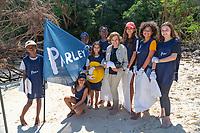 Sylvia Earle and Parley Team Members in Seychelles
