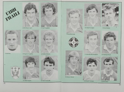 All Ireland Senior Hurling Championship Final,.Galway Vs Offaly,Offaly 2-11, Galway 1-12,.01.09.1985, 09.01.1985, 1st September 1985,.01091985AISHCF..Offaly, Pat Fleury captain, Ger Coughlan, Jim Troy, Eugene Coughlan, Paddy Delaney, Aidan Fogarty, Tom Conneelly, Joachim Kelly, Mark Corrigan, Joe Dooley, Brendan Bermingham, Padraig Horan, Danny Owens, Paddy Corrigan, Pat Cleary,