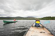 Kayaking on Loch Morlich in Cairngorms national park, Scotland, UK (August 2015) © Rudolf Abraham