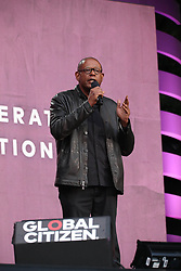 Forest Whitaker at the 2018 Global Citizen Festival: Be The Generation in Central Park in New York City.