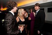 AARON JOHNSON; SAM TAYLOR WOOD; ALEX JAMES, GQ Men of the Year 2010. the Royal Opera House. Covent Garden. London. 7 September 2010. -DO NOT ARCHIVE-© Copyright Photograph by Dafydd Jones. 248 Clapham Rd. London SW9 0PZ. Tel 0207 820 0771. www.dafjones.com.