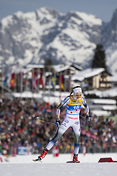 February 21, 2019 - Seefeld In Tirol, AUSTRIA - 190221 Stina Nilsson of Sweden competes in women's cross-country skiing sprint qualification during the FIS Nordic World Ski Championships on February 21, 2019 in Seefeld in Tirol..Photo: Joel Marklund / BILDBYRÃ…N / kod JM / 87879 (Credit Image: © Joel Marklund/Bildbyran via ZUMA Press)