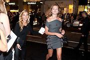 NATALIA VODIANOVA, Vogue: Fashion's Night Out: Armani. Bond st.  London. 8 September 2010.  -DO NOT ARCHIVE-© Copyright Photograph by Dafydd Jones. 248 Clapham Rd. London SW9 0PZ. Tel 0207 820 0771. www.dafjones.com.