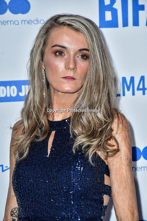 Vicky Knight attends the 22nd British Independent Film Awards at Old Billingsgate on December 01, 2019 in London, England.