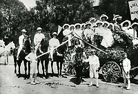 1908 South Hollywood's entry in the Hollywood Tilting & Floral Parade