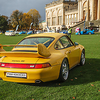 1995 Porsche 993 Carrera RS Clubsport at Rennsport Collective at Stowe House, Buckinghamshire, UK, on 1 November 2020