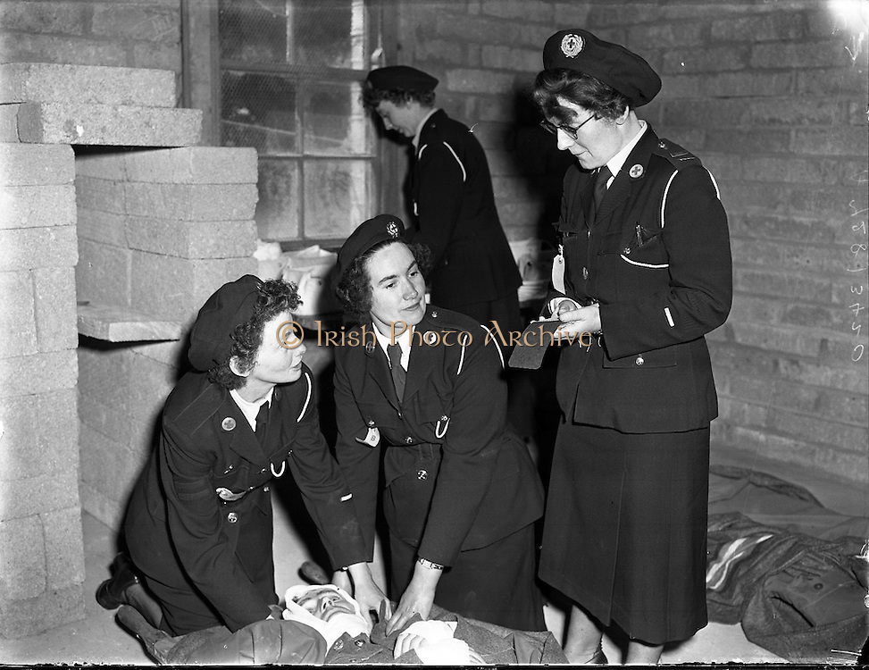 Irish Red Cross National Competition .21/06/1958 .