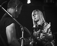 Ritzy Bryan and Rhydian Dafydd of Welsh indie-rock band The Joy Formidable at Blue Shell in Cologne
