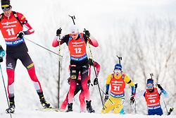March 24, 2019 - Oslo, NORWAY - 190324 Vetle SjÃ¥stad Christiansen of Norway competes in the men's 15 km mass start during the IBU World Cup on March 24, 2019 in Oslo..Photo: Jon Olav Nesvold / BILDBYRÃ…N / kod JE / 160428 (Credit Image: © Jon Olav Nesvold/Bildbyran via ZUMA Press)