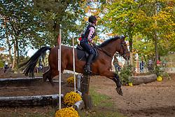 Primus Kirsten, BEL, Hoppenhof's Daniel<br /> LRV Ponie cross - Zoersel 2018<br /> © Hippo Foto - Dirk Caremans<br /> 28/10/2018