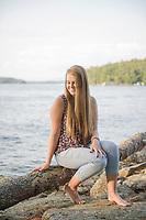 Aliya McWalter session at Varney Point.  ©2017 Karen Bobotas Photographer
