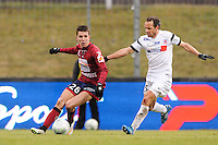 Adrien HUNOU - 24.01.2015 - Clermont / Chateauroux  - 21eme journee de Ligue2<br />Photo : Jean Paul Thomas / Icon Sport