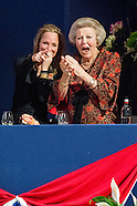 PRINSES BEATRIX EN PRINSES MARGARITA BIJ JUMPING AMSTERDAM