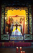 Ho Chi Minh City - Temple - prayer flags