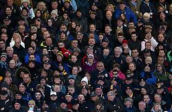 Worcester Warriors fans - Mandatory by-line: Robbie Stephenson/JMP - 26/03/2016 - RUGBY - Sixways Stadium - Worcester, England - Worcester Warriors v London Irish - Aviva Premiership