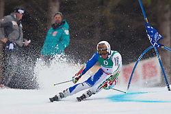 18.02.2011, Kandahar, Garmisch Partenkirchen, GER, FIS Alpin Ski WM 2011, GAP, Herren, Riesenslalom, im Bild Massimiliano Blardone (ITA) // Massimiliano Blardone (ITA) during men's Giant Slalom Fis Alpine Ski World Championships in Garmisch Partenkirchen, Germany on 18/2/2011. EXPA Pictures © 2011, PhotoCredit: EXPA/ J. Groder