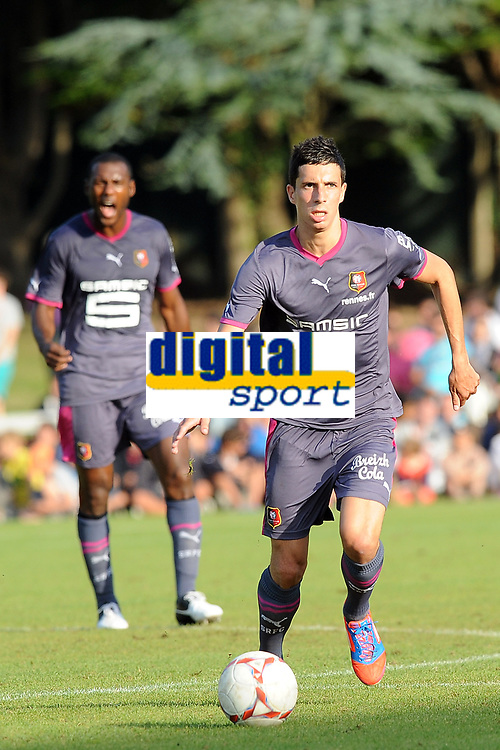FOOTBALL - FRIENDLY GAMES 2012/2013 - STADE RENNAIS v FC LORIENT - 21/07/2011 - PHOTO PASCAL ALLEE / DPPI - VINCENT PAJOT (RENNES)
