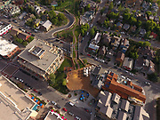 SHOT 7/1/17 7:03:13 PM - Drone photos of Park City, Utah. Park City lies east of Salt Lake City in the western state of Utah. Framed by the craggy Wasatch Range, it's bordered by the Deer Valley Resort and the huge Park City Mountain Resort, both known for their ski slopes. Utah Olympic Park, to the north, hosted the 2002 Winter Olympics and is now predominantly a training facility. In town, Main Street is lined with buildings built during a 19th-century silver mining boom. (Photo by Marc Piscotty / © 2017)