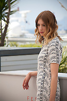 Actress Sigrid Bouaziz at the Personal Shopper film photo call at the 69th Cannes Film Festival Tuesday 17th May 2016, Cannes, France. Photography: Doreen Kennedy