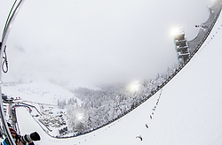 Ski jumper flying in the air during Trial Round at Day 1 of FIS Ski World Flying Championship Planica 2020, on December 10, 2020 in Planica, Kranjska Gora, Slovenia. Photo by Vid Ponikvar / Sportida