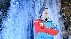 02.12.2015, Lillehammer, NOR, OESV, Nordische Kombinierer, Fotoshooting, im Bild Fabian Steindl (AUT) // Fabian Steindl of Austria during the Photoshooting of the Ski Austria Nordic Combined Team in Lillehammer on 2015/12/02 . EXPA Pictures © 2015, PhotoCredit: EXPA/ JFK