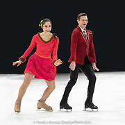 Ice Dance International performing A Blade of Sunshine, Choreographed by Trey McIntyre, in Dover, NH, March 2020