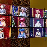 NLD/Apeldoorn//20170322 - Beatrix opent hoedententoonstelling Chapeaux in Paleis 't Loo, hoedenoverzicht prinsesdag