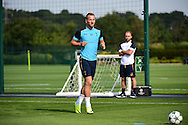 Harry Kane during Tottenham Training Session at Tottenham Training Centre, Enfield, United Kingdom on 13 September 2016. Photo by Jon Bromley.