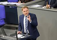 DEU, Deutschland, Germany, Berlin, 27.01.2021: Peter Aumer (CSU) in der Plenarsitzung im Deutschen Bundestag.