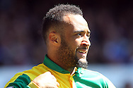 Nathan Redmond of Norwich City looks on. Barclays Premier League match, Everton v Norwich City at Goodison Park in Liverpool on Sunday 15th May 2016.<br /> pic by Chris Stading, Andrew Orchard sports photography.