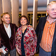 Première van Adèle Conny Jasperina – De Grote Drie, Philippe Elan, Therese Steinmetz en partner Philipe