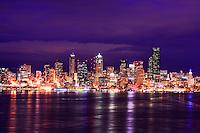 Seattle Skyline, Hamilton Viewpoint Park