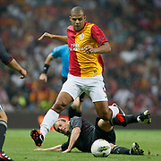 Galatasaray's Felipe MELO (F) during their Friendly soccer match Galatasaray between Liverpool at the TT Arena at Arslantepe in Istanbul Turkey on Saturday 28 July 2011. Photo by TURKPIX