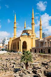 Mohammed al-Amin Mosque in Beirut, Lebanon
