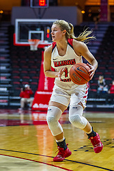 NORMAL, IL - November 05: McKenna Sims during a college women's basketball game between the ISU Redbirds and the Truman State Bulldogs on November 05 2019 at Redbird Arena in Normal, IL. (Photo by Alan Look)