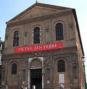 Flemish artist Jan Fabre was exhibited at the Nuova Scuola Grande di S Maria della Misericordia, in May 31, 2011 in Venice