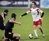Fotball , 28. oktober 2007 , Tippeligan , Fredrikstad - Strømsgodset , Agim Shabani Fredrikstad , Foto: Thomas Andersen , Digitalsport