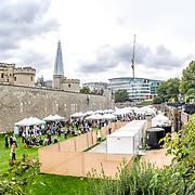 Tower of London Food Festival on 8th September 2018, London, UK