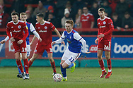 Ipswich Town midfielder Jon Nolan (11)  during the The FA Cup 3rd round match between Accrington Stanley and Ipswich Town at the Fraser Eagle Stadium, Accrington, England on 5 January 2019.