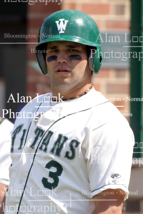 22 April 2006:  ....Titan Brian McCabe.....In CCIW, Division 3 action, the Titans of Illinois Wesleyan capped the Auggies of Augustana College by a scor of 3-2 in game one of a double card afternoon.  Games were held at Jack Horenberger field on the campus of Illinois Wesleyan University in Bloomington, Illinois