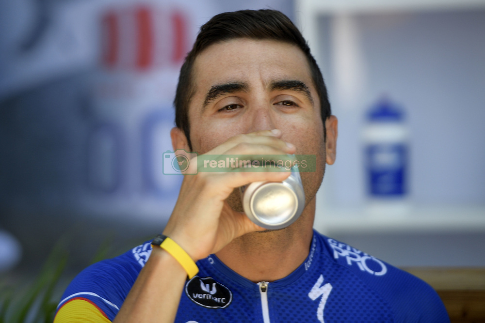 July 23, 2018 - Mende, FRANCE - Argentina Maximiliano Richeze of Quick-Step Floors pictured during the second rest day of the 105th edition of the Tour de France cycling race in Carcassone, France, Monday 23 July 2018. This year's Tour de France takes place from July 7th to July 29th. BELGA PHOTO YORICK JANSENS (Credit Image: © Yorick Jansens/Belga via ZUMA Press)