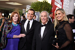 January 6, 2019 - Beverly Hills, California, United States of America - Stacey Weitzman, Anthony Scaramucci, Golden Globe nominee Henry Winkler and Deidre Ball attend the 76th Annual Golden Globe Awards at the Beverly Hilton in Beverly Hills, California on  Sunday, January 6, 2019. HFPA/POOL/PI (Credit Image: © Prensa Internacional via ZUMA Wire)